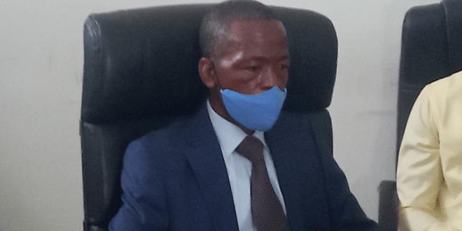 Patrice Pépé LOUA, Directeur Général de la SEG lors de sa prise de fonction