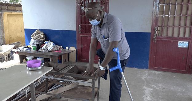 Ibrahima Sory Tounkara, handicapé