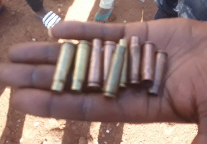 Des balles perdues ramassées par des citoyens