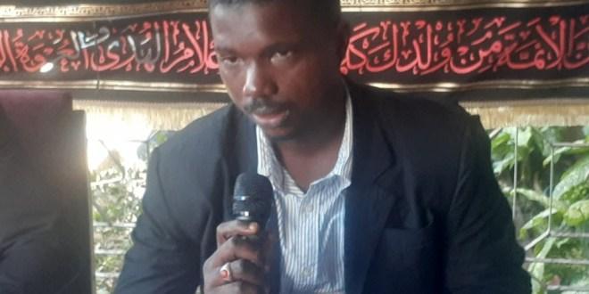 Mamadou Safayiou Bah, président de l'Organisation guinéenne des initiatives pour le développement (OGID)