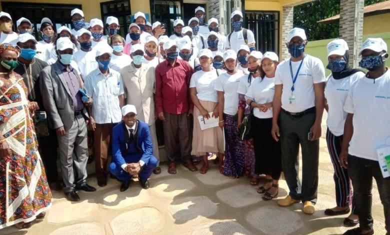 Des participants d'un atelier de formation organisé par le projet INTEGRA