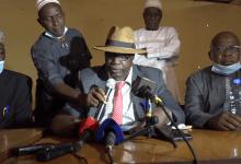 Alpha Amadou, vice-président du Syndicat des transporteurs