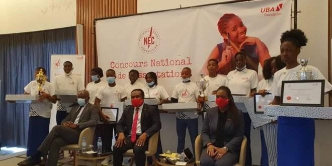 Les 12 finalistes de la Dissertation récompensés par UBA-Guinée