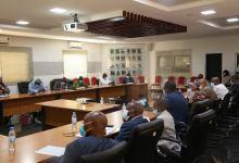 Cérémonie d'installation des membres de la Cellule d'Appui au Comité de Trésorerie.