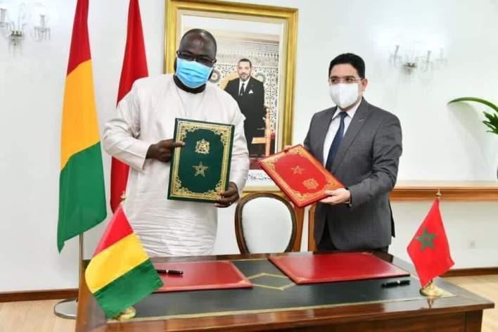 Ibrahima Khali KABA est arrivé à Rabat