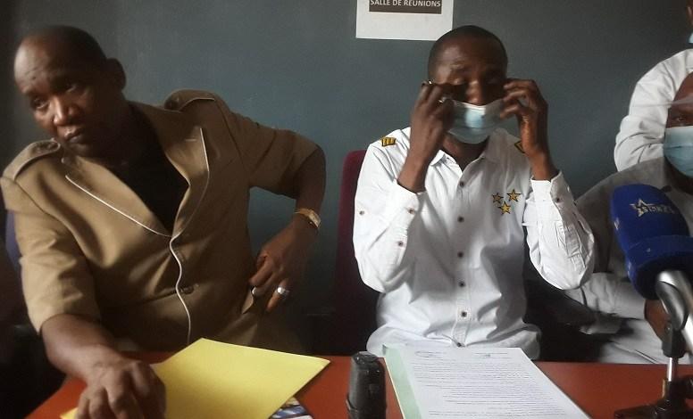 Les membres de la coopérative nationale des boulangers et pâtissiers de Guinée (CONABPAG)