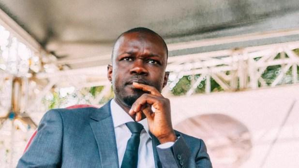 L'opposant Ousmane Sonko à Dakar, le 21 février 2019. AFP - CARMEN ABD ALI