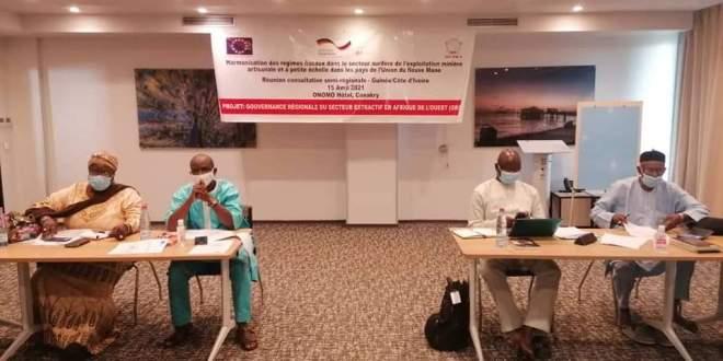 Atelier sur l'harmonisation des régimes fiscaux de l'exploitation minière artisanale et à petite échelle dans les pays de l'Union du Fleuve Mano (l'UFM )