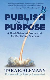 Publish with Purpose by Tara Alemany cover
