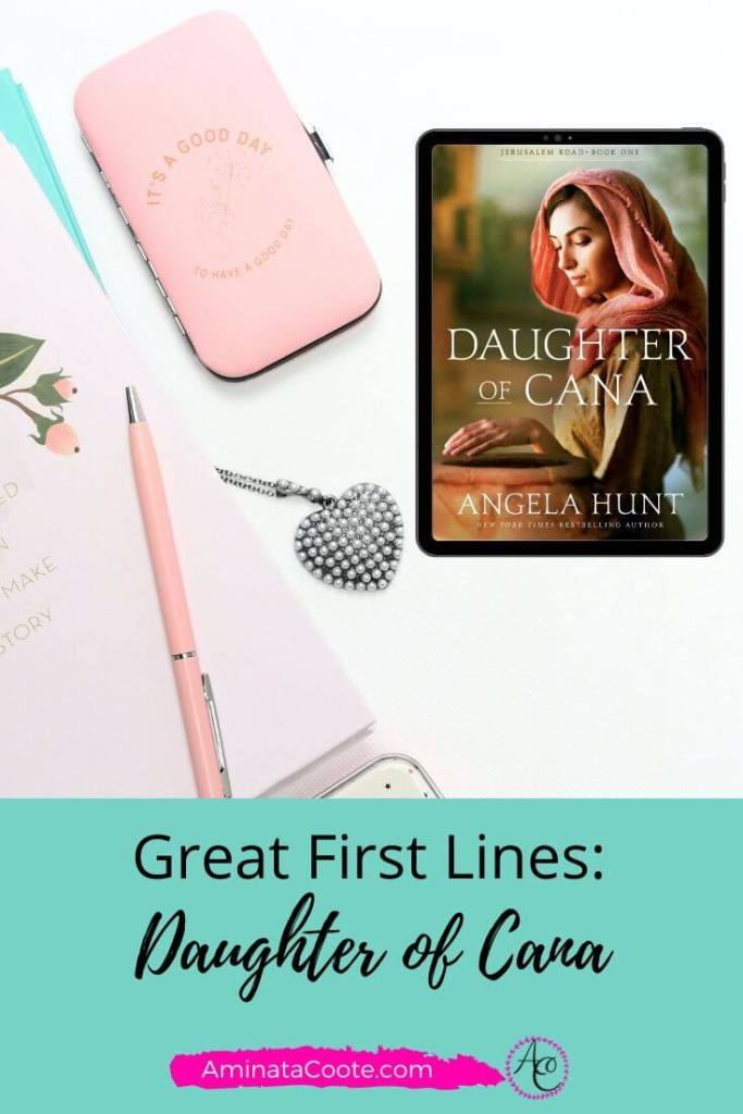First line of Daughter of Cana