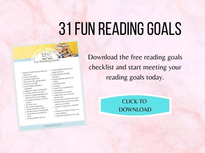 31 fun reading goals download