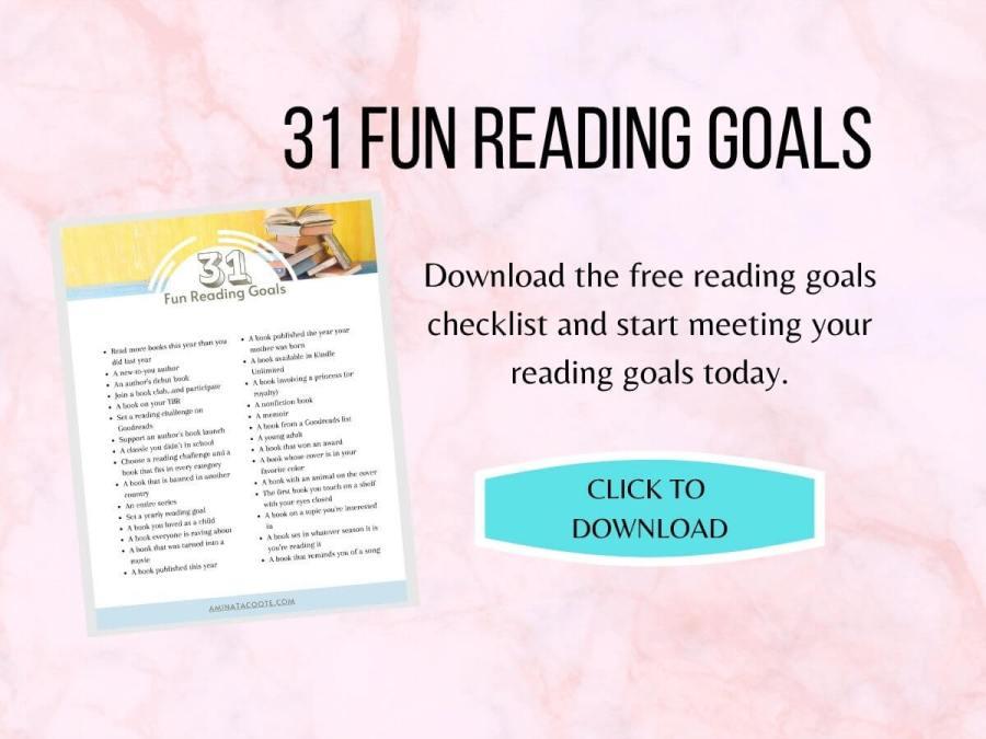 31 fun reading goals download