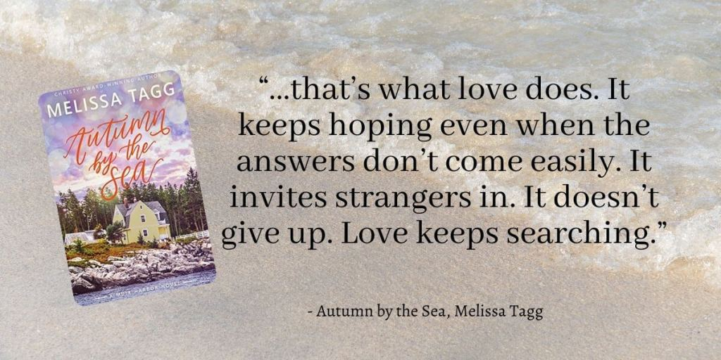 Autumn by the Sea quote by Melissa Tagg