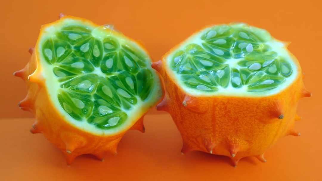 avantages du kiwano (melon cornu) / concombres à cornes africains bienfaits