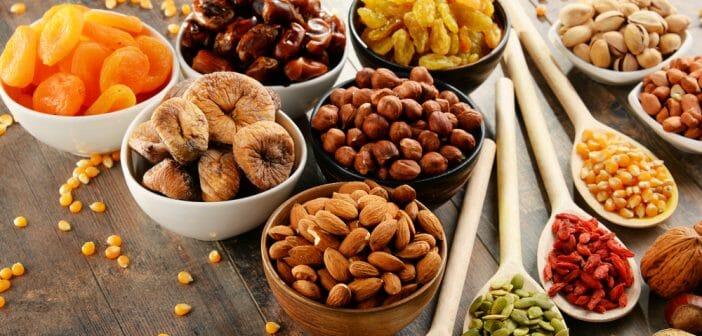 fruits secs pistaches
