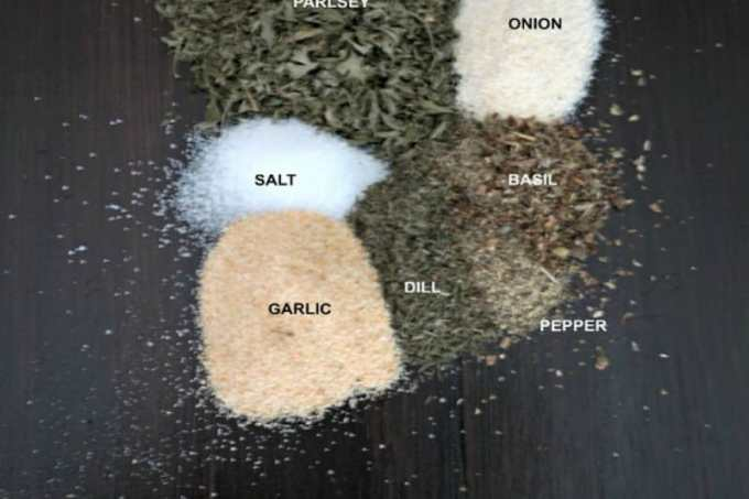DIY Ranch Seasoning: A homemade version of the famous ranch seasoning packet without the added MSG or preservatives. Use this as you would use the pack.