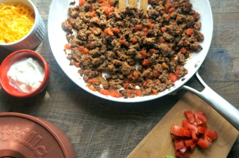 3 Ingredient Taco Meat and 4 Ways to Use It: 3 simple ingredients and 15 minutes is all you need to whip up a dish that is sure to become a family staple in your house, and the base for fabulous family meals.