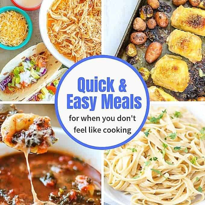 Easy Dinner Meals Cook