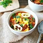SCD Beef and Bean Chili