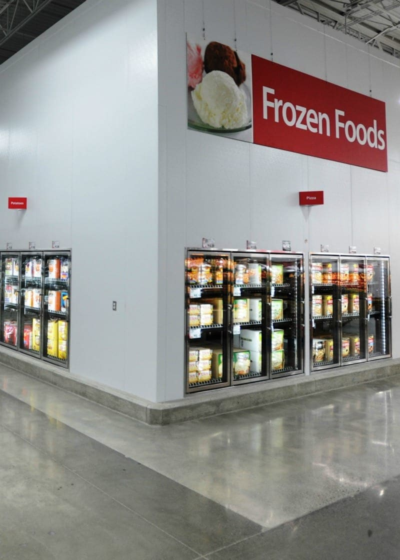 BJ's Wholesale Club is an economical place to shop for frozen foods.