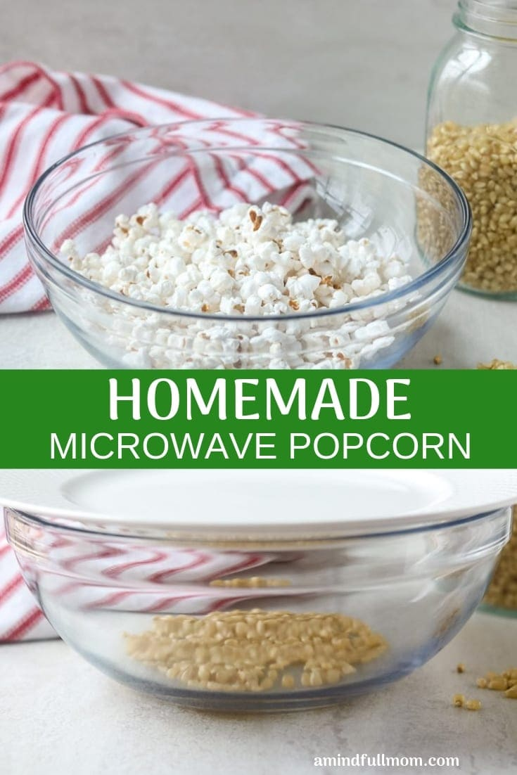 healthy homemade microwave popcorn a