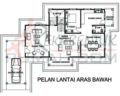 Perkongsian Pelbagai Cetusan Idea Pelan Lantai Rumah 1