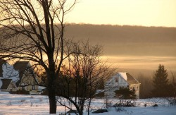 petit matin d'hiver © Wolfgang Prigge
