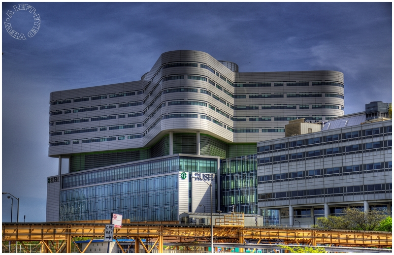 Rush University Medical Center #2 - Architecture Photos - A LEFT-EYED VIEW