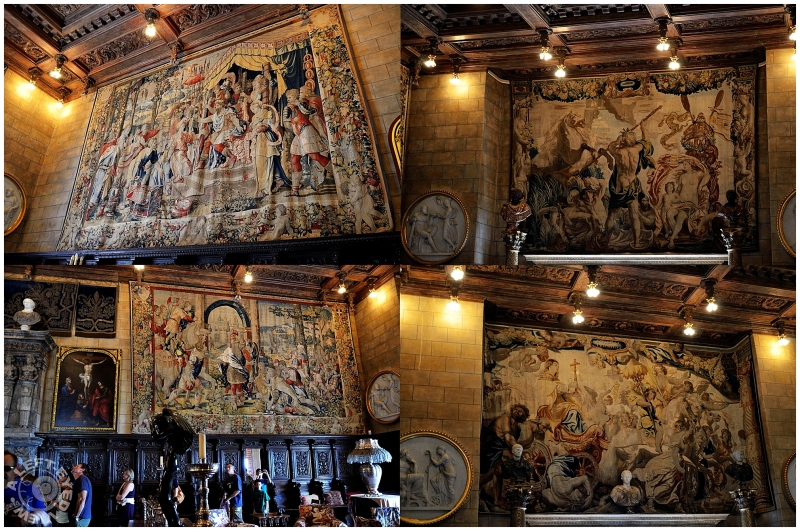 Hearst Castle Tapestries  Art  Design Photos  A LEFT