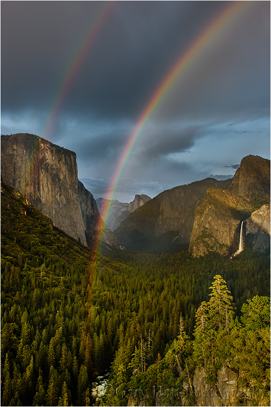 Double Rainbow Yosemite Valley Landscape Amp Rural Photos