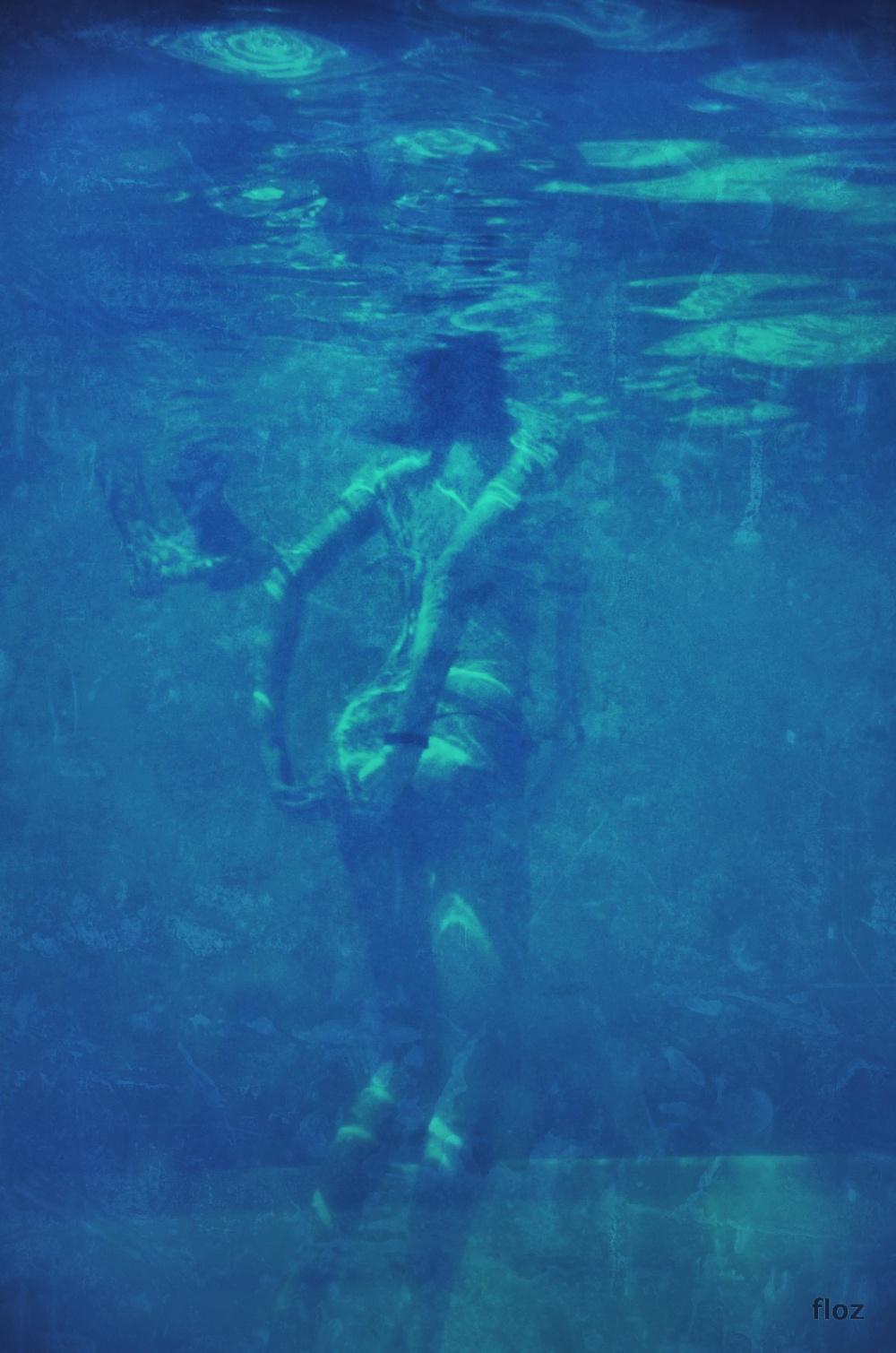 Au Fond De La Piscine : piscine, 22AAAA, (#2AA), Image, Color, Scheme