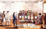 Masonic initiation Paris 1745-s