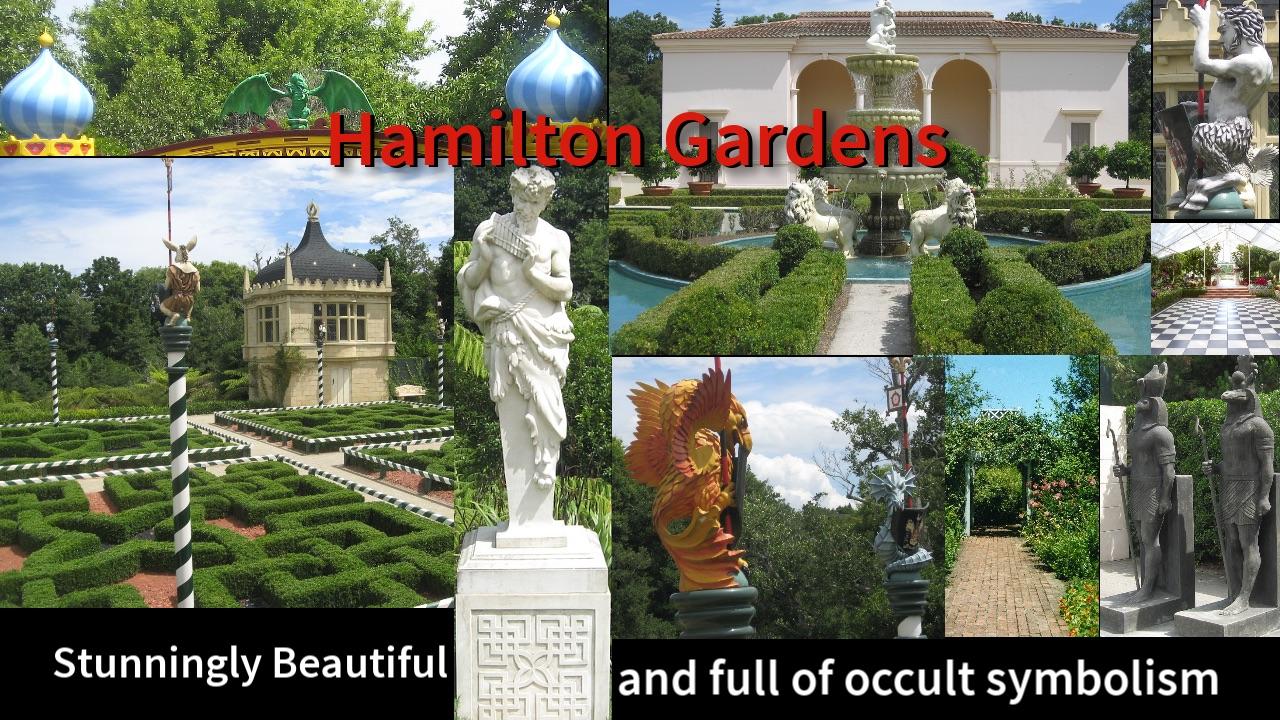 Hamilton gardens stunningly beautiful and full of occult hamilton gardens stunningly beautiful and full of occult symbolism biocorpaavc