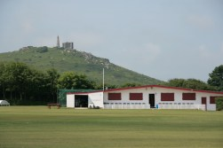 Nice grounds for the local cricket pitch.