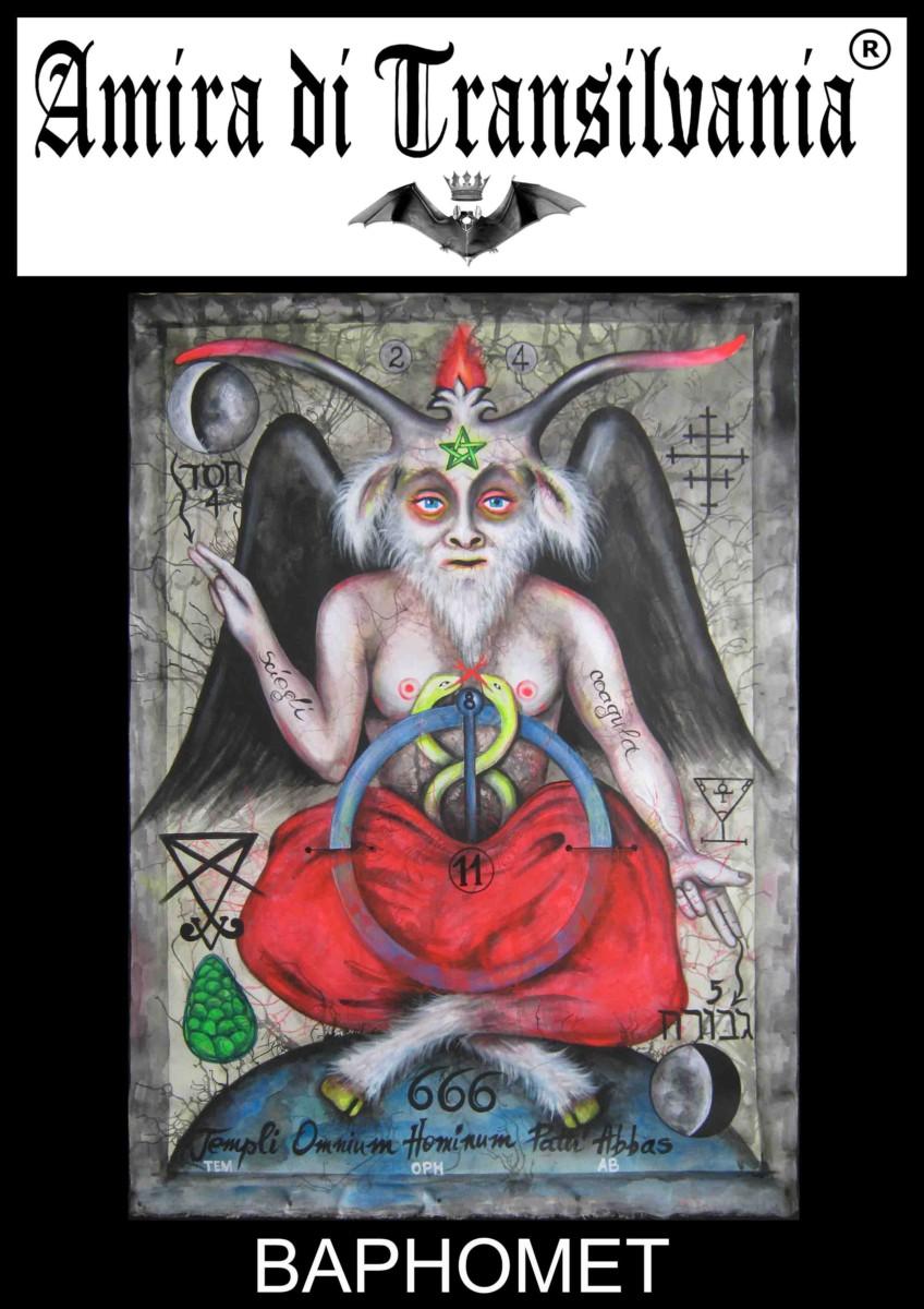 Baphomet il Dio occulto dei Templari (serigrafie)