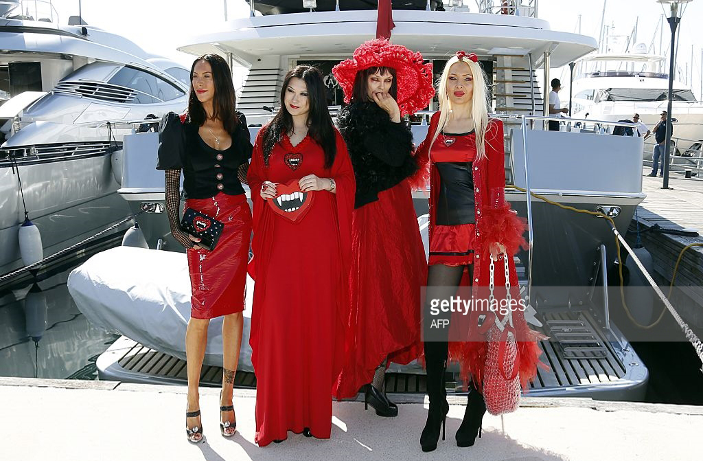 Amira Bergmann, Xena Zupanic, Violetta Smikalina, Uthe Bacher , actress by 4SuckerS film in Cannes