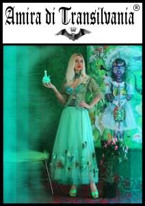 amira di transilvania turquoise collection