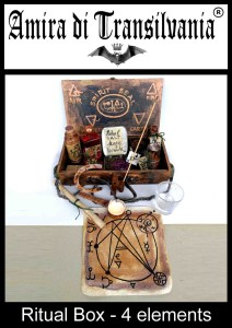 kit da rituale 4 elementi