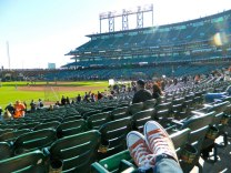 October - I crossed off my bucket list item of going to a Giants World Series game!!