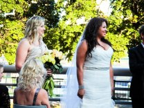 September - I saw my best friend get married in Boston and looked on as her maid of honor!