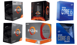 Best CPUs for Gaming 2021 - Top CPC from Intel to AMD