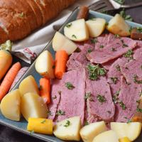 Tender Corned Beef Slow Cooker