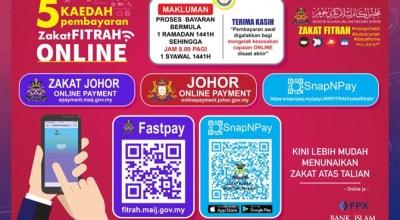 Cara Bayar Zakat Fitrah Online