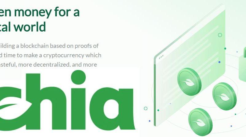 Chia Hard Disk Crypto Mining