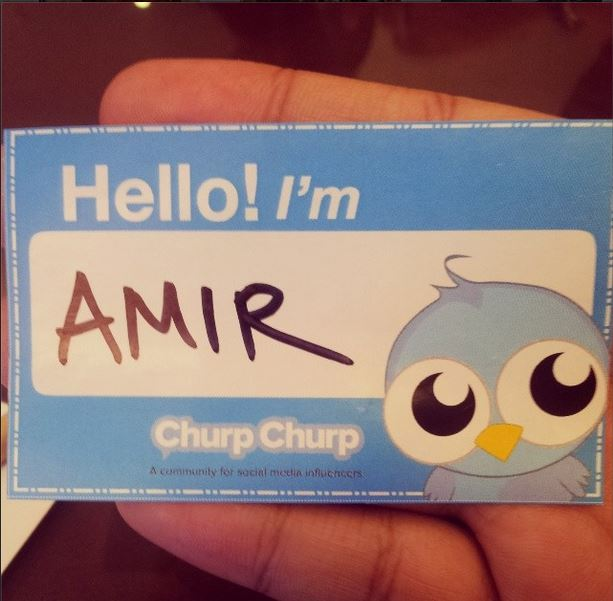 My name is Amir. U can call me  Amir.. k bye
