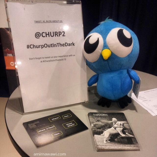 Terima kasih ChurpChurp kerana menjemput saya