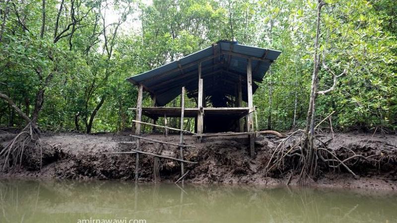 Antara pondok zaman dahulu yang masih ada sehingga kini. Ini merupakan jeti bagi orang Siam terdahulu yang menjalankan aktiviti membuat kayu arang