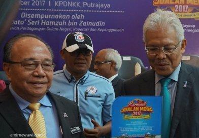 Sertai KARNIVAL JUALAN MEGA 2017 di Bulatan Amanjaya, Ipoh Perak