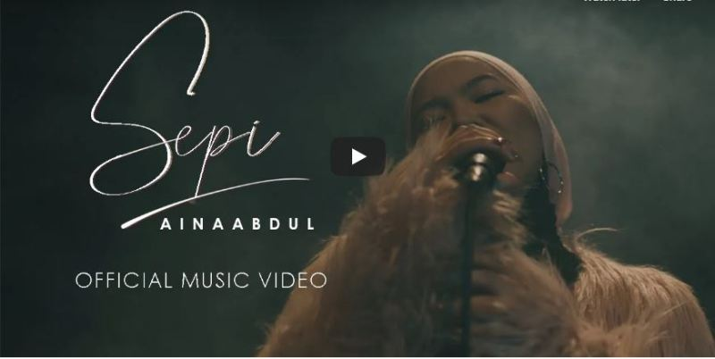 Sepi Aina Abdul di Youtube