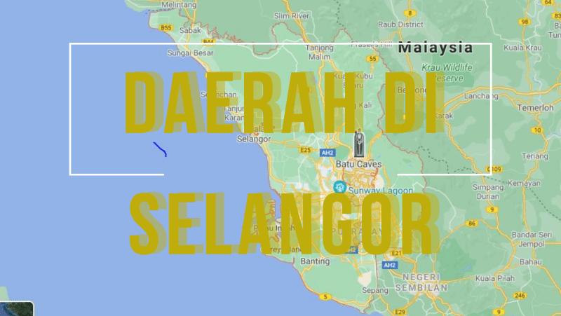 Daerah di Selangor